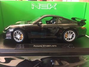 2008 Porsche 911 (997) GT3, black 1/18