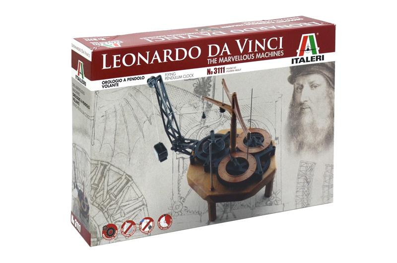 DA VINCI'S Pendulum Clock