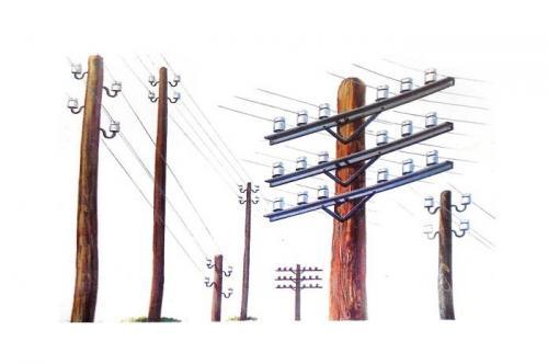 Telegraph Poles 1/35