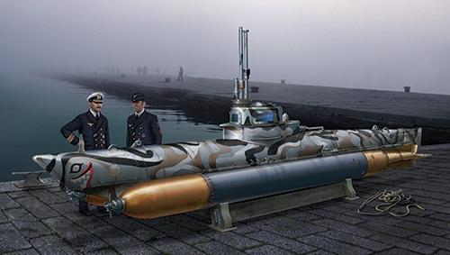 Biber Midget Submarine 1/35