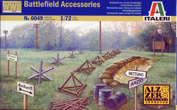Battlefield Accessories (WWII) 1/72