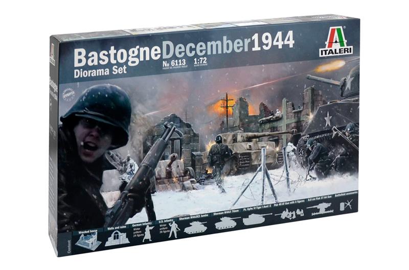 BASTOGNE December 1944 DIORAMA SET 1/72