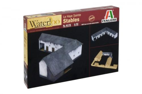 WATERLOO (200 years) LA HAYE SAINTE - STABLES 1/72