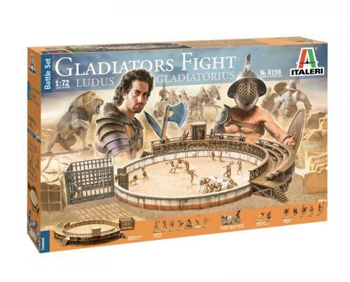 GLADIATORS FIGHT LUDUS GLADIATORIUS 1/72