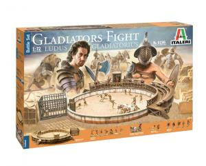 GLADIATORS FIGHT LUDUS GLADIATORIUS 1/72