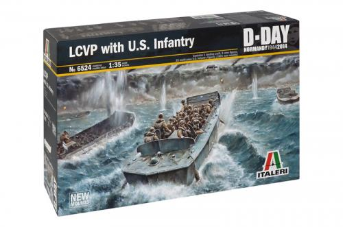 LCVP with U.S. INFANTRY 1/35