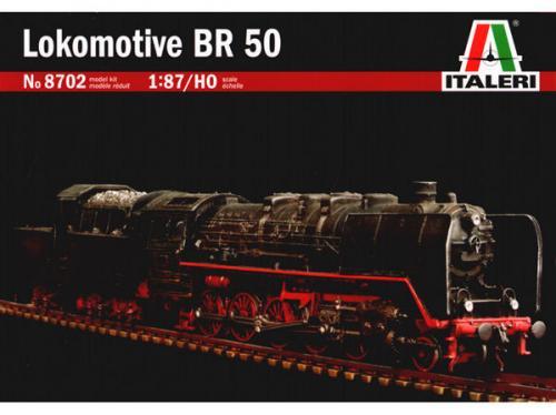 Locomotive BR50 1/87