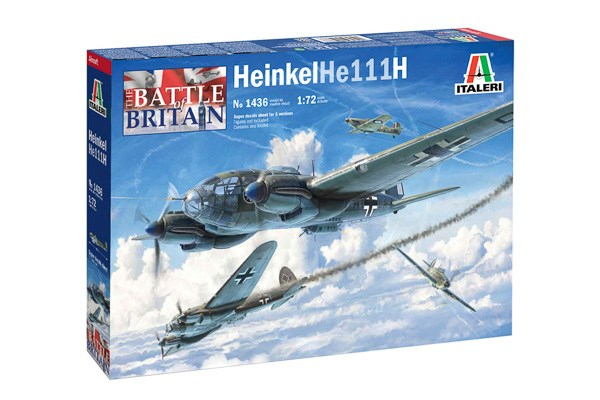 HEINKEL HE 111H - BATTLE OF BRITAIN 80TH ANNI 1/72