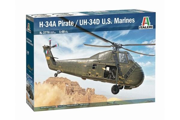 """H-34A """"PIRATE"""" / UH-34 D 1/48"""