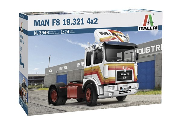 MAN F819.321 - 2 AXLE TRACTOR 1/24