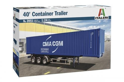 40' CONTAINER TRAILER 1/24