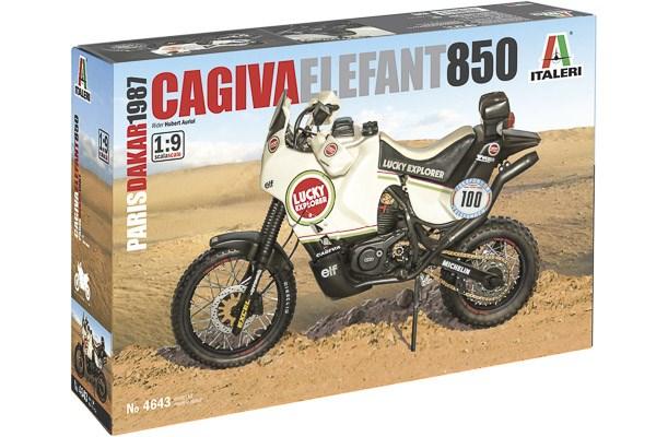 "Cagiva ""Elephant"" 850 Paris-Dakar 1987 1/9"