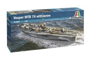 VOSPER 74 WITH CREW 1/35