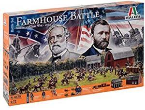 Battleset Civil War Farmhouse Battle 1/72
