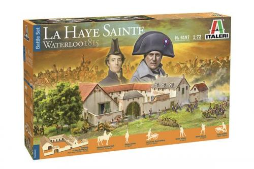 Battleset Waterloo 1815: La Haye Sainte 1/72