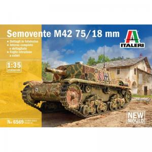 Semovente M42 75/18mm 1/35