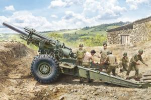 M1 155mm Howitzer with crew 1/35
