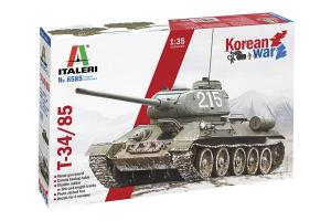 """T-34/85 """"Korean War"""" 1/35"""