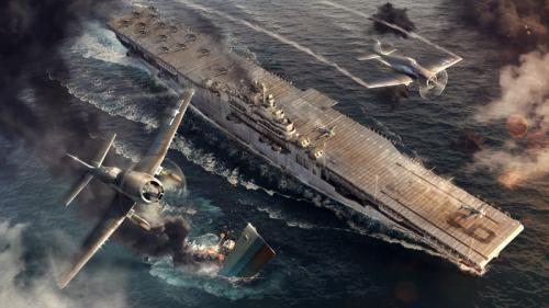 World of Warships: USS ESSEX 1:700