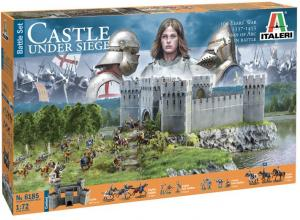 100 YEARS WAR CASTLE UNDER SIEGE 1/72