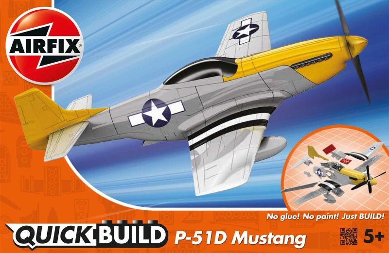 P-51D Mustang QUICK BUILD