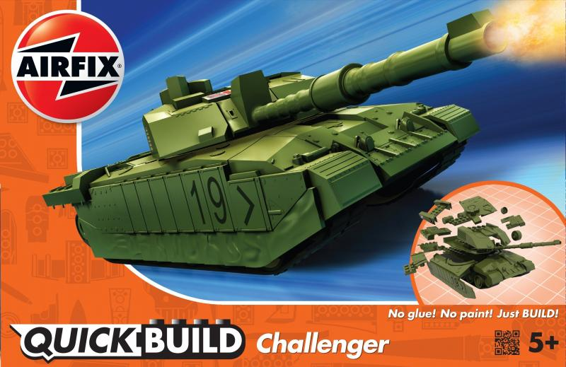 Challenger Tank QUICK BUILD