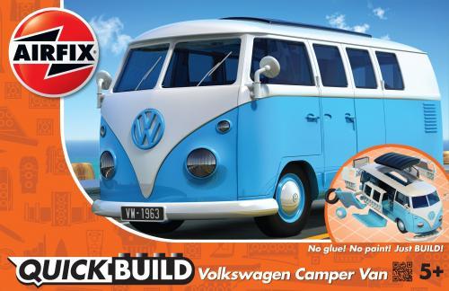 VW Camper Van QUICK BUILD Blue