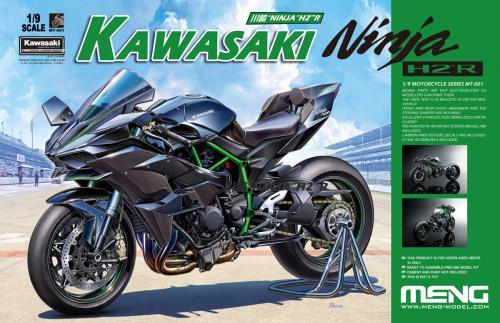 Kawasaki Ninja H2R Unpainted Edition 1/9
