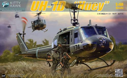 "BELL UH-1D ""HUEY"" 1/48"