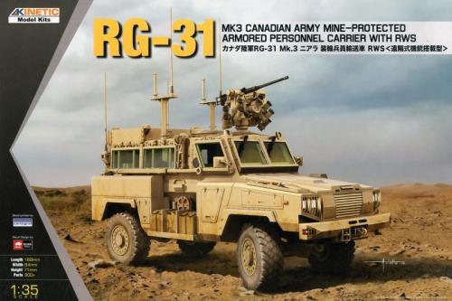 RG-31 Mk.3 Canadian Army MRAP w/RWS 1/35