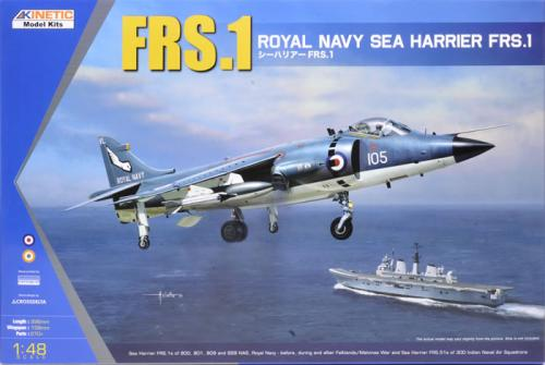 Sea Harrier FRS.1 1/48