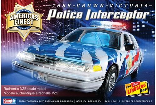 Crown Victoria Police Cruiser 1/24