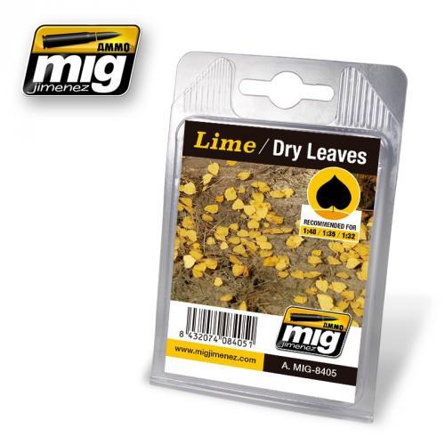 LIME / DRY LEAVES