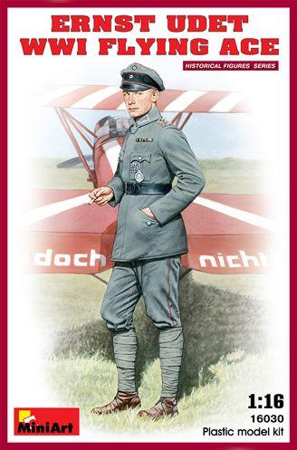 Ernst Udet - WWI Flying Ace 1/16