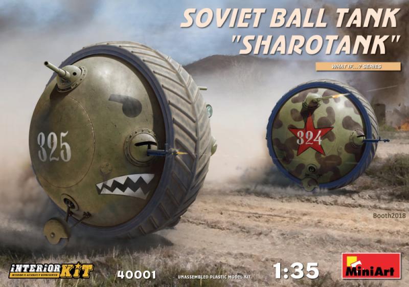 Soviet Ball Tank 'Sharotank' w/ Interior 1/35