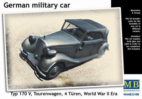 German Military Car, Typ 170 V Tourenwagen 4 Turn 1937-1940 1/35