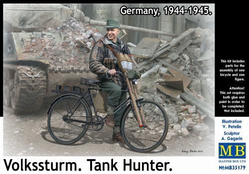 """""""Volkssturm. Tank Hunter. Germany, 1944-1945"""" 1/35"""