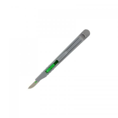 Retractable Safety Knife - #10 Green