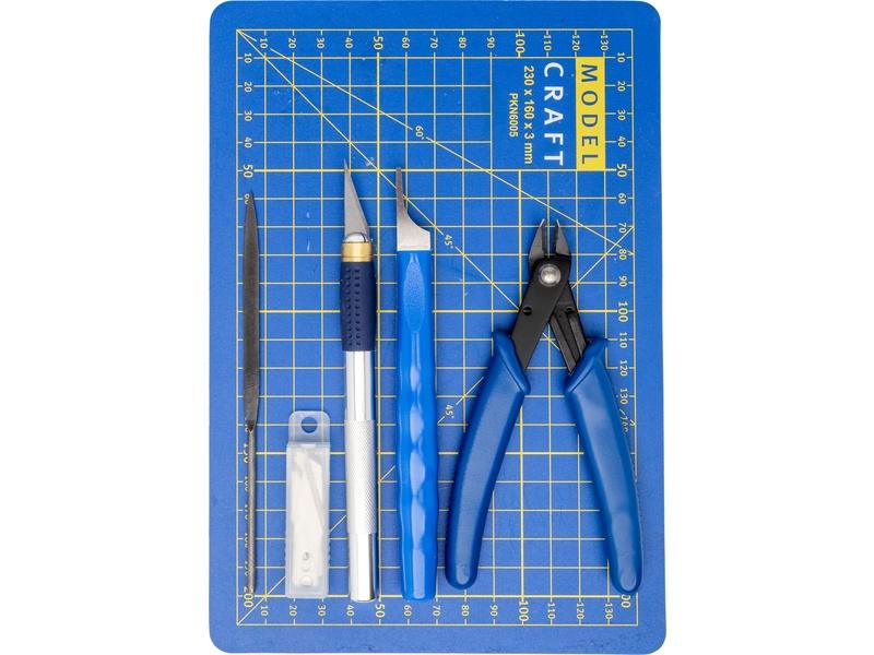 Pro Plastic Modelling Tool Set - 10 pcs.
