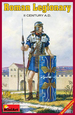Roman Legionary - II Century A.D. 1/16