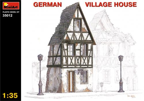 GERMAN VILLAGE HOUSE 1/35