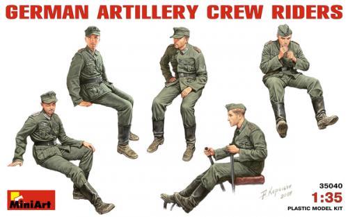German Artillery Crew Riders 1/35