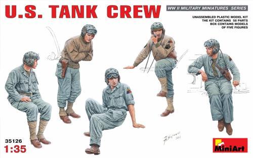 U.S TANK CREW 1/35