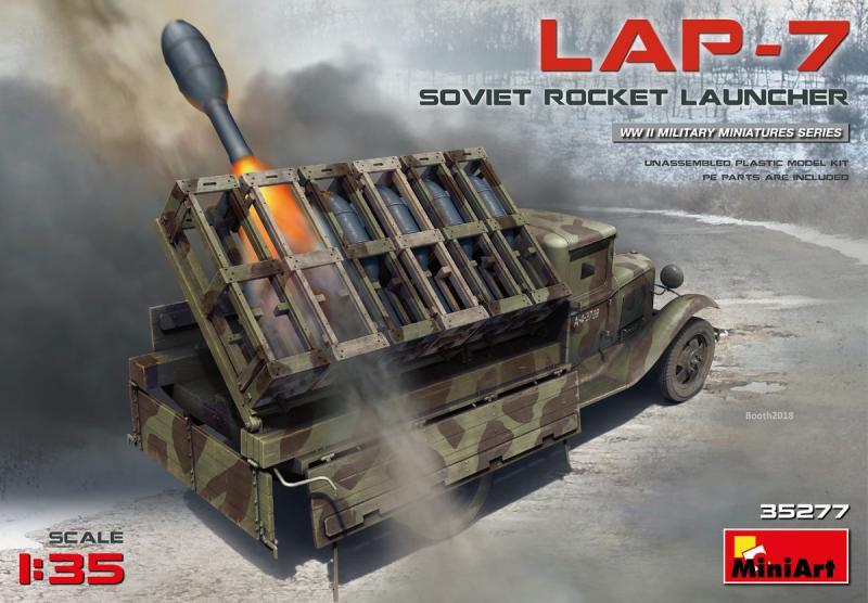 Soviet Rocket Launcher LAP-7 1/35
