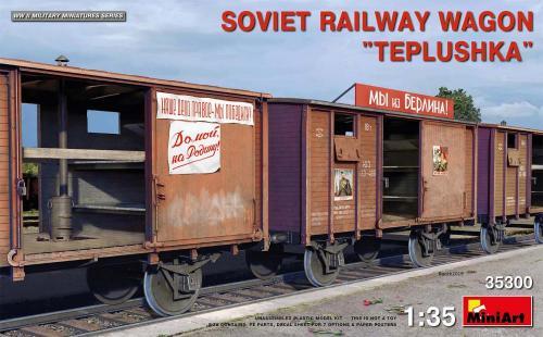 Soviet Railway Wagon 'Teplushka' 1/35