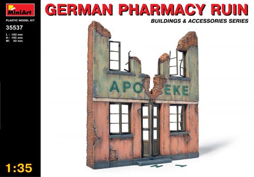 GERMAN PHARMACY RUIN 1/35