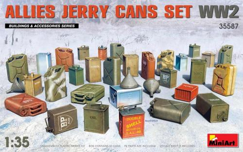 Allies Jerry Cans Set WWII 1/35