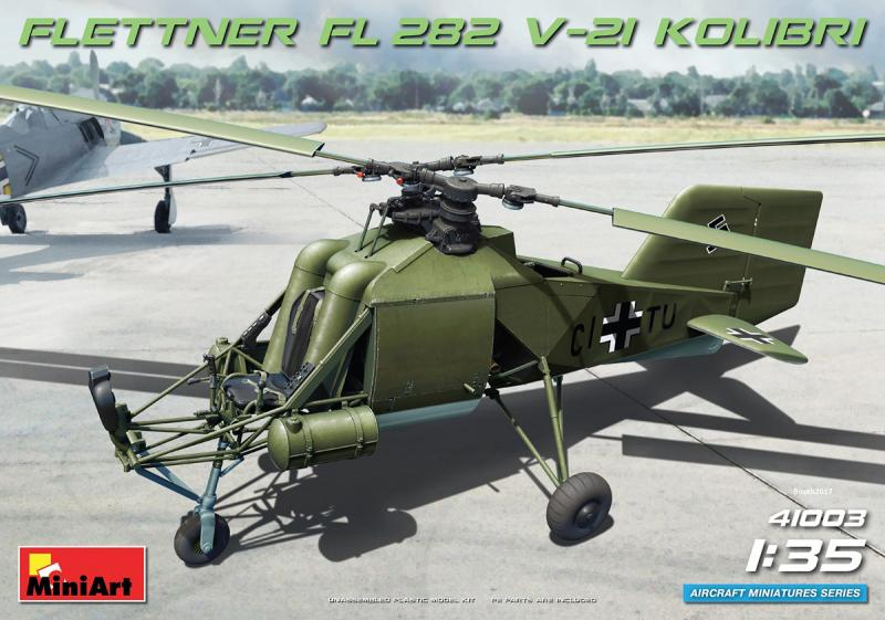 Fl 282 V-21 Kolibri Helicopter 1/35
