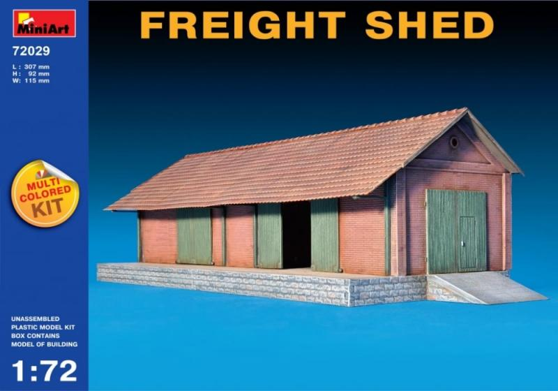Freight Shed (Multi Coloured Kit) 1/72