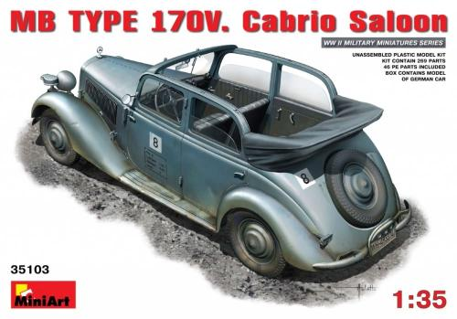 German Staff Car 170V 1/35